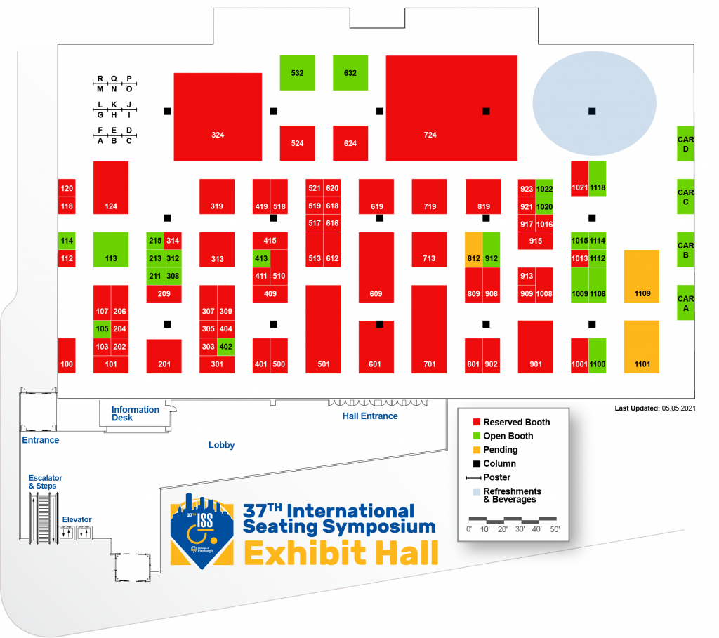 37th ISS Exhibit Hall